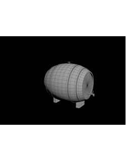 3d barrel design drawing 3D model