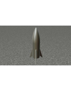 3D Mars Shuttle Rocket - Musk starship