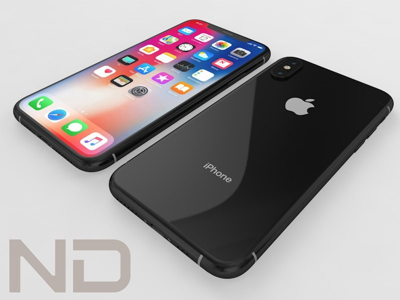 3D model Apple iPhone Xs