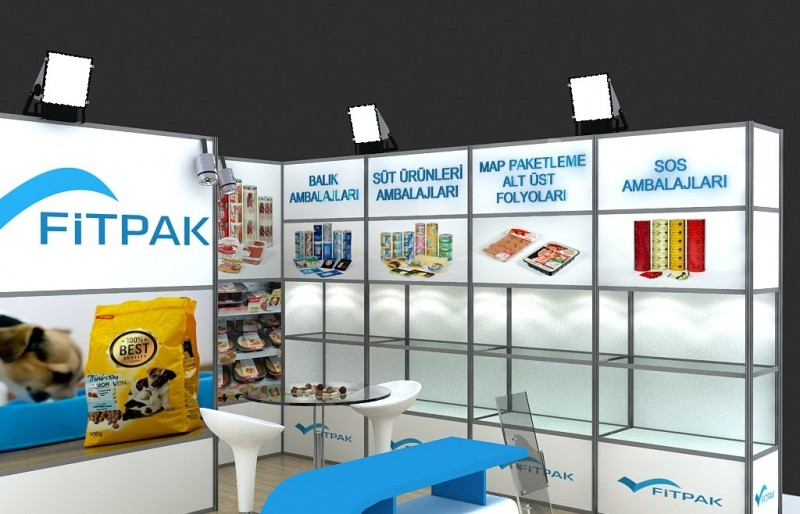 Exhibition Stand Location Map : D modular exhibition stand d model for download