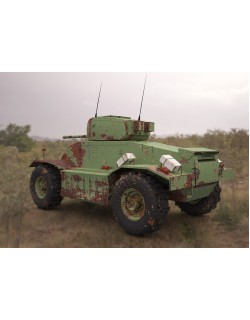 aec armoured 3d model military vehicle 3D model