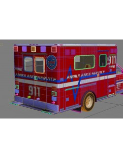 ambulance vehicle 2n1