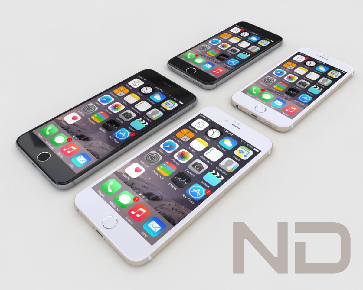 Apple iphone 6 , iphone 6 plus 3D Model for Download