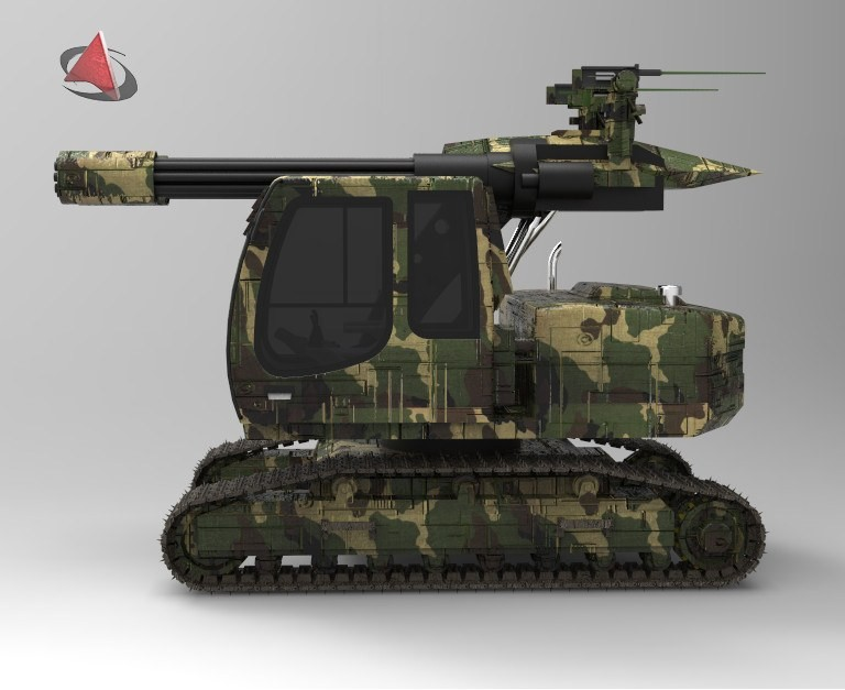 army tractor