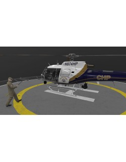 AS-350 California Highway Patrol Animated