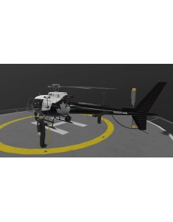 AS-350 Edmonton Police Service Animated