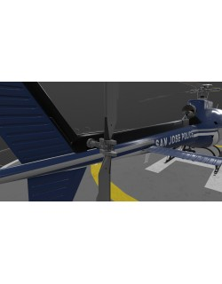 AS-350 San Jose Police Animated