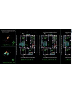 autocad architectural project