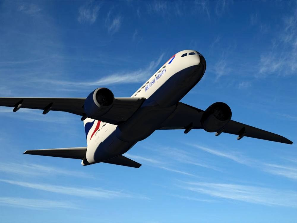 B 787-800 - 1 british airways 3D Model for Download