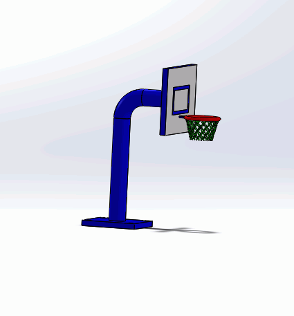 BASKET POTASI - Basketball Rim Outdoor