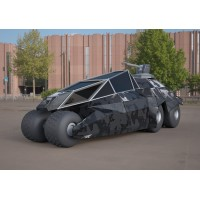 Batmobile concept car 3ds 3D model