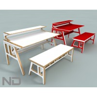 Bench and Table - Scott Klinker