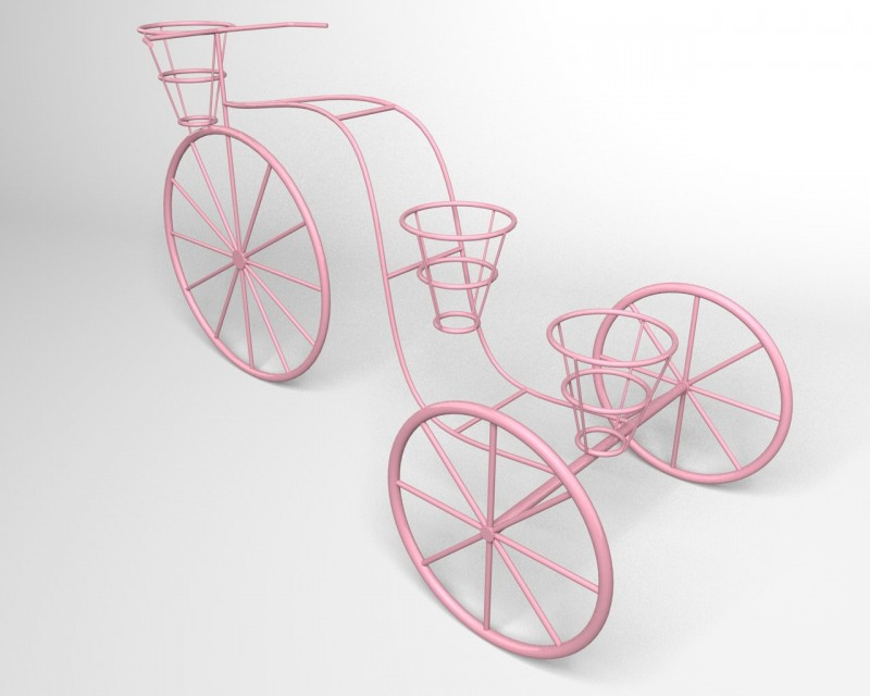 Bicycle stand for flowers