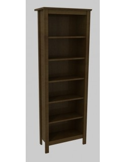 BRUSALI Bookcase White 67 x 190 cm - IKEA