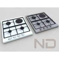 BUILT-IN GAS HOB , ELECTRIC