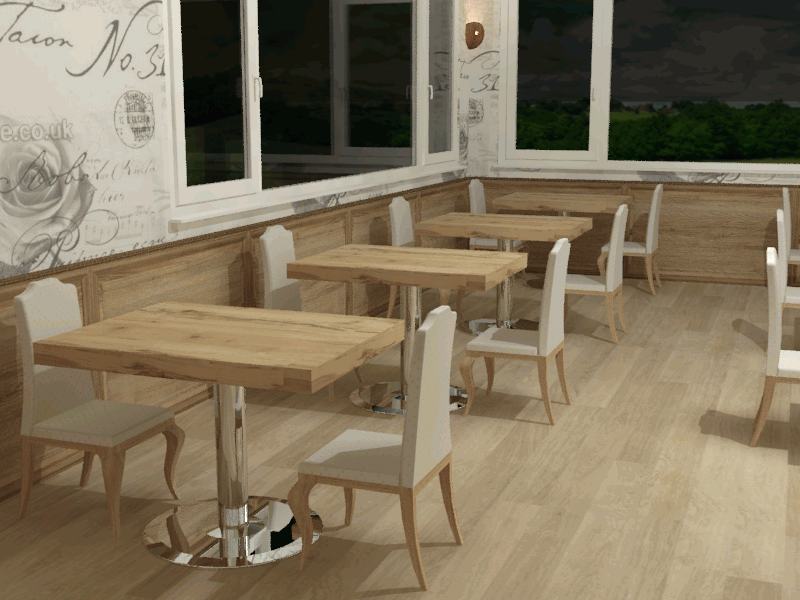 CAFE MASA & SANDALYE - CAFE TABLE AND CHAIR