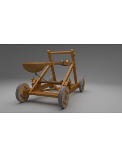 Catapult in Medieval War Equipments