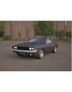 challenger-1970 3ds max model car 3D model