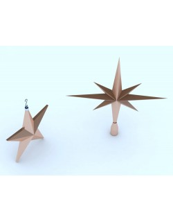 Christmas Star and Tree Topper