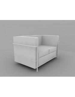 Cuscino Loveseat Sofa - 2