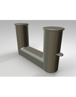 DOUBLE BOLLARD DIN 82607
