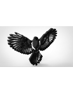 Eagle Wall Decoration 3d model