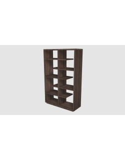Empty Bookcase 3D