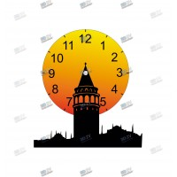 Galata Tower Table Clock