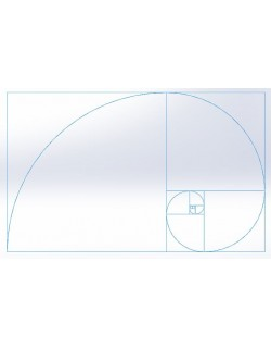 Golden Ratio Spiral 3D model