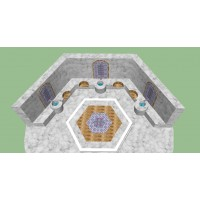 HAMAM - Turkish bath -3D BASKI