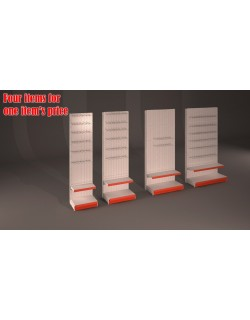 Hardware  Market Shelves  with hook