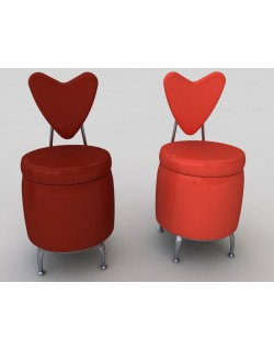 HEART PUFF CHAIR