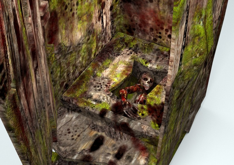 horror game model forest wc 3D model
