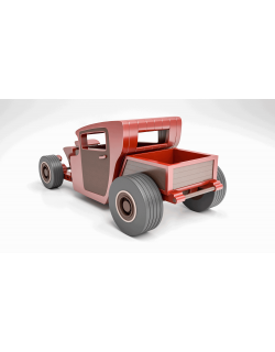 Hot Rod Pickup Car