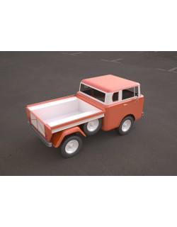 jeep fc 150 classic vehicle 3D model