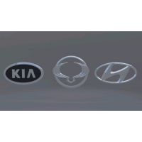 korea logo car set