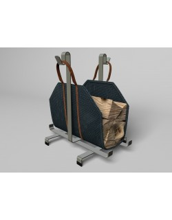 LOG CARRIER BAG WITH RACK