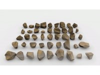 Lowpoly Stones - Pack 1