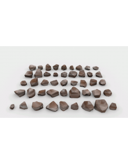 Lowpoly Stones - Pack 2