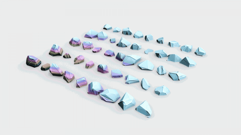 Lowpoly Stones - Pack 3