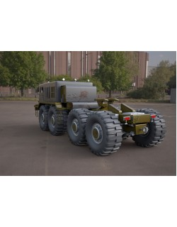 MA3-537 military tractor 3D model