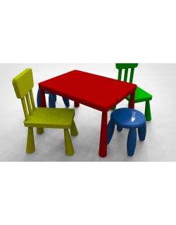 MAMMUT children's chair and table