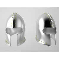 Medieval Knight Helmet 2 - solidworks 3D model