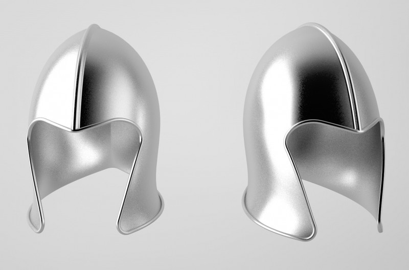 Medieval Knight Helmet - solidworks