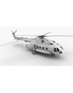 Mi-17 Czech Air Force Animated