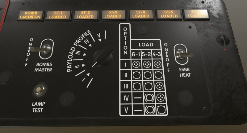 Mi-8MT Mi-17MT Additional Panels Board English