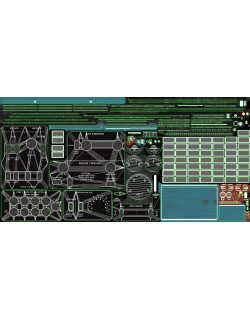 Mi-8MT Mi-17MT Central Overhead Board English