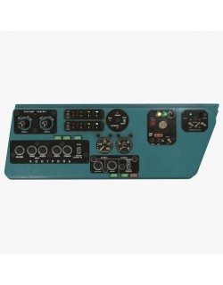 Mi-8MT Mi-17MT Left Side Console Russian
