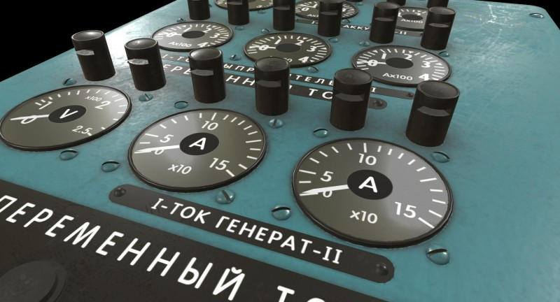 Mi-8MT Mi-17MT Power Panels Board Russian