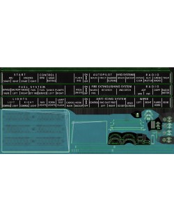 Mi-8MT Mi-17MT Right Circuit Console English